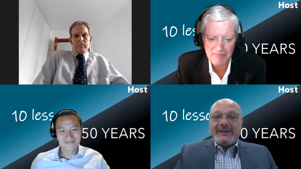Hosts of 10 Lessons it Took Me 50 Years to Learn