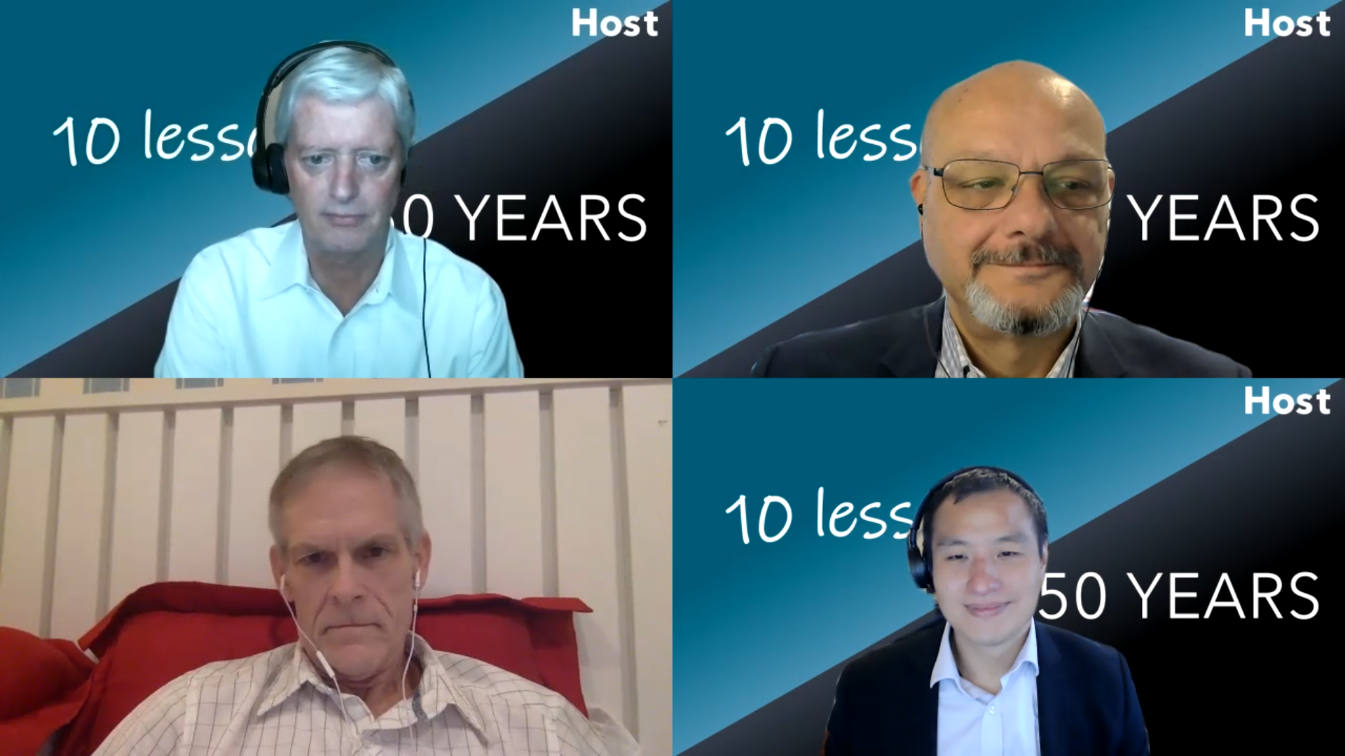 10-50 Group. Hosts of 10 Lessons it Took Me 50 Years to Learn.